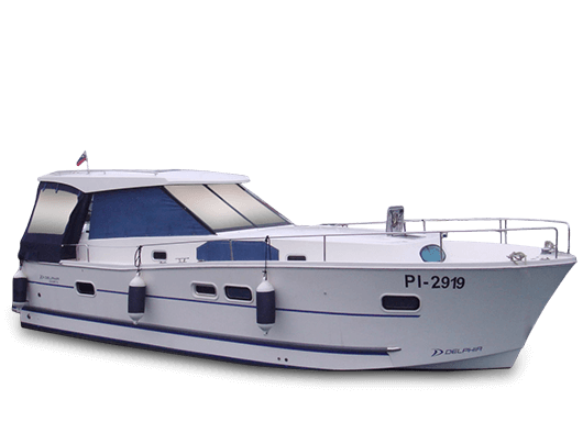 Delphia 1050 Escape – boat for 8 people
