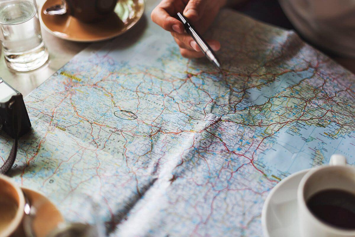 Načrtovanje potovanja z avtodomom