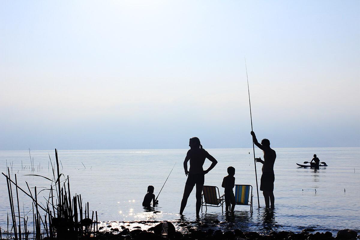 Družina kampira na Hrvaškem