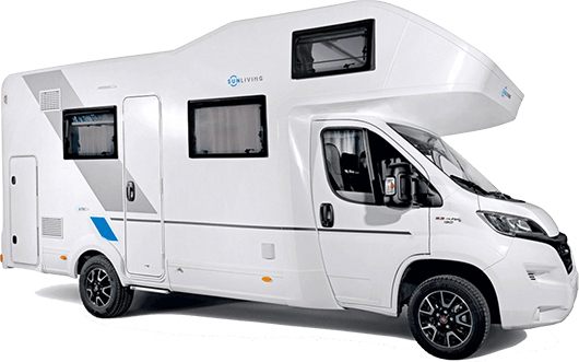 Adria A75DP – motorhome for 6 people